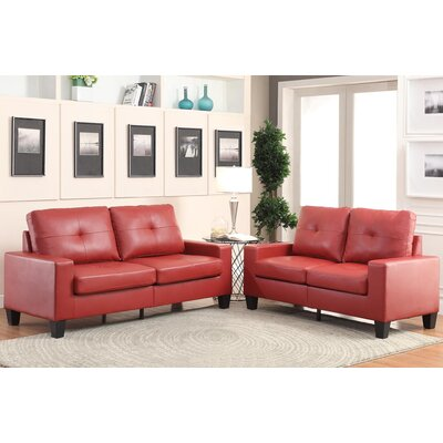 Platinum II Sofa and Loveseat Set