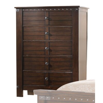 Brooklyn 5 Drawer Standard Chest