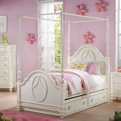 Dorothy Four Poster Bed Size: Full