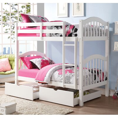 Heartland Over Twin Bunk Bed with Strorage
