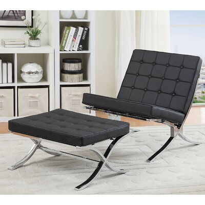 Elian Lounge Chair and Ottoman Set