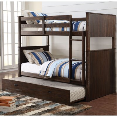 Hector Twin over Twin Bunk Bed with Trundle