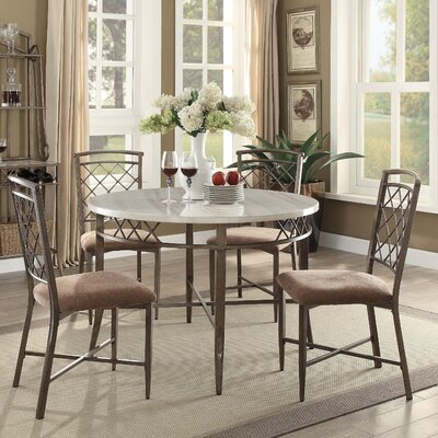 Aldric 5 Piece Dining Set