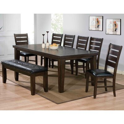 Urbana Extendable Dining Table Finish: Expresso