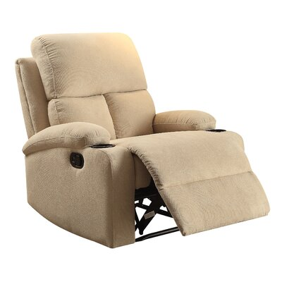 Rosia Recliner Upholstery: Beige