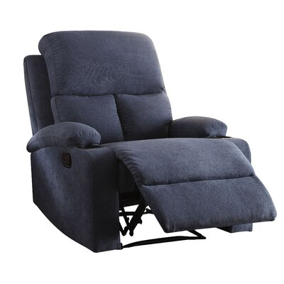 Rosia Recliner Upholstery: Blue