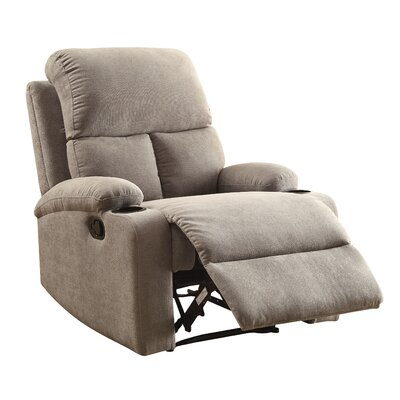 Rosia Recliner Upholstery: Gray