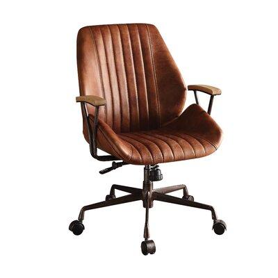 Acme Furniture Hamilton Mid-back Leather Executive Chair