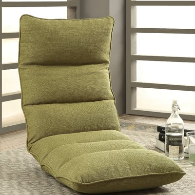 Morris Gaming Floor Chair Color: Green