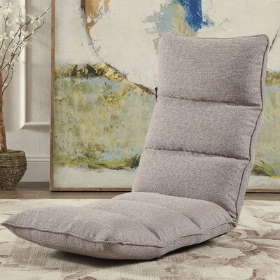 Morris Gaming Floor Chair Color: Smoky Gray