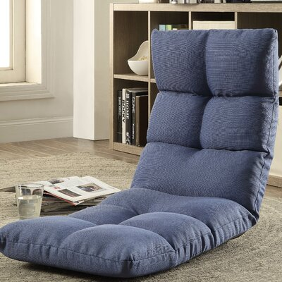 Morris Gaming Floor Chair Color: Blue