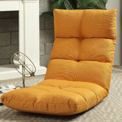 Morris Gaming Floor Chair Color: Orange