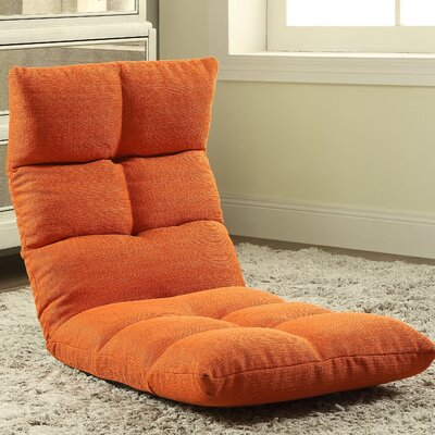 Morris Gaming Floor Chair Color: Tangerine
