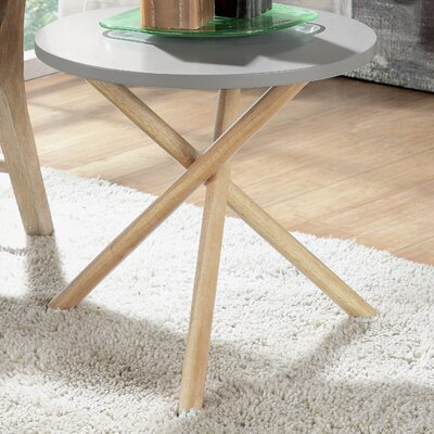 Lanica End Table Color: Gray