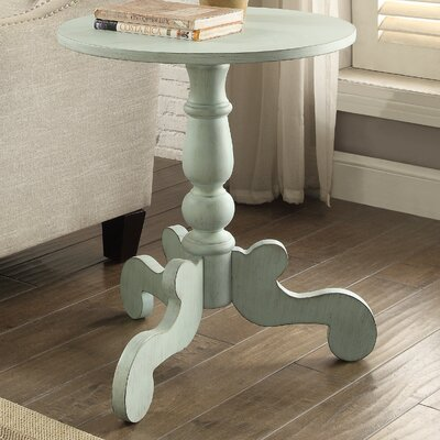 Freida End Table Finish: Antique Green