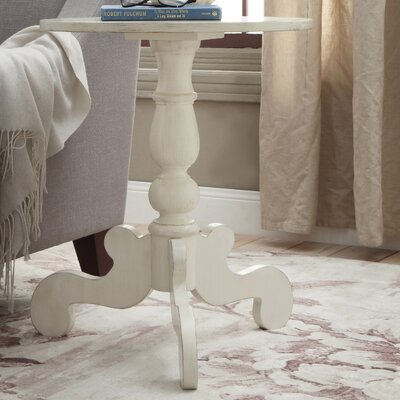 Freida End Table Finish: Antique White