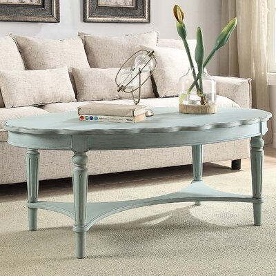 Fordon Coffee Table Color: Antique Green