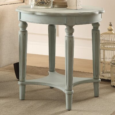 Fordon End Table Color: Antique Green