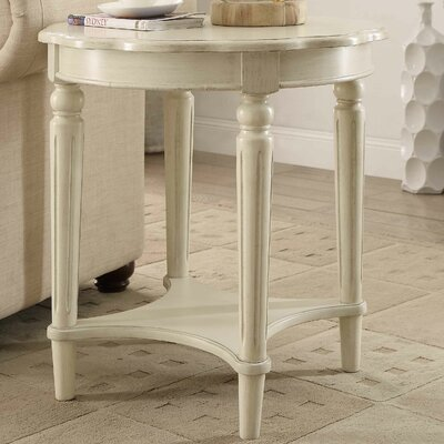 Fordon End Table Finish: Antique White