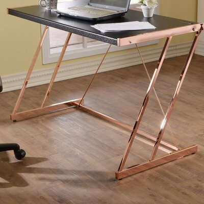 Acme Furniture Finis Writing Desk With Usb Dock