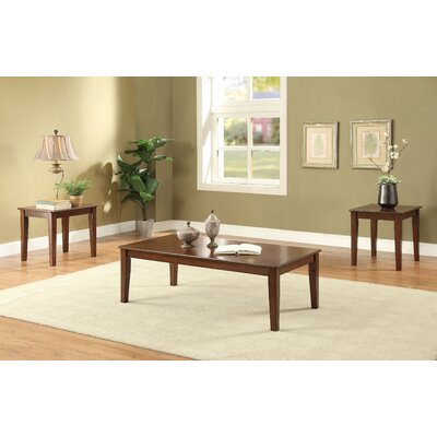 Rachelle 3 Piece Coffee Table Set