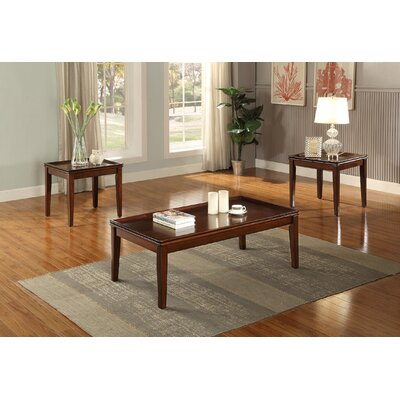 Pauline 3 Piece Coffee Table Set