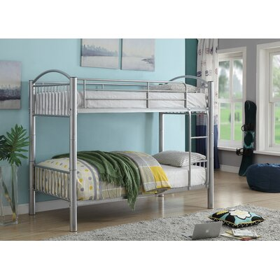 Clayville Convertible Bunk Bed Size: Twin Over Twin