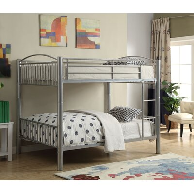 Clayville Convertible Bunk Bed Size: Full Over Full