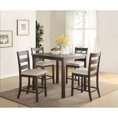 Bayle 5 Piece Counter Height Dining Set