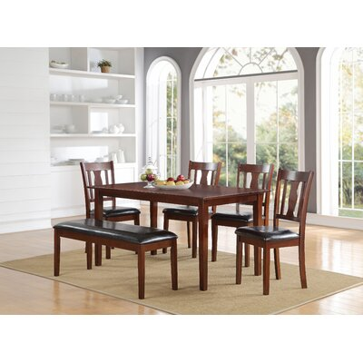 Bavis 6 Piece Dining Set