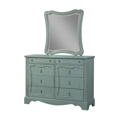 Virginie 8 Drawer Dresser with Mirror