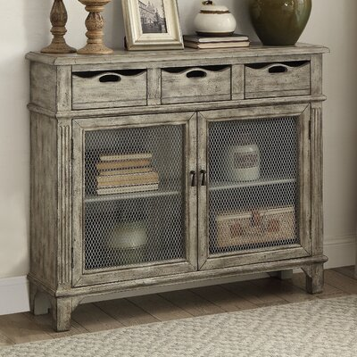 Calen 3 Drawer and 2 Door Console Table