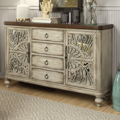 Dillen 2 Door and 4 Drawer Console Table