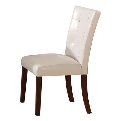 Murphysboro White/Walnut Side Chair