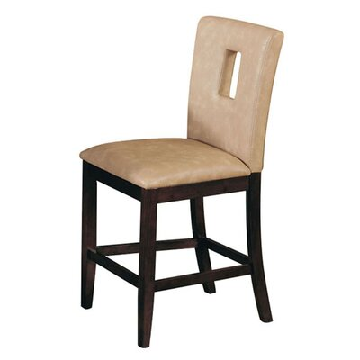 Needham Cut-out Backrest Dining Chair Upholstery: Cream