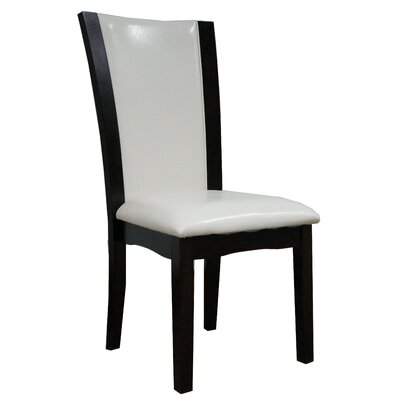 Dekalb Side Chair Upholstery: White