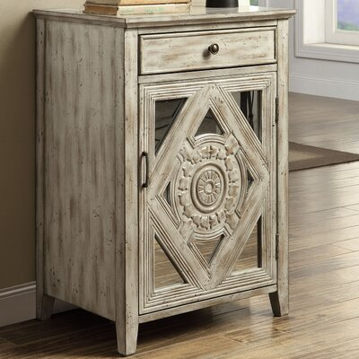Dimitri End Table Color: Antique White