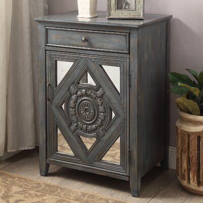 Dimitri End Table Finish: Antique Gray