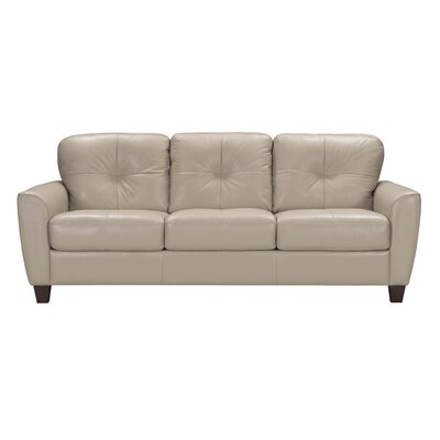 Annsville Leather Sleeper Sofa