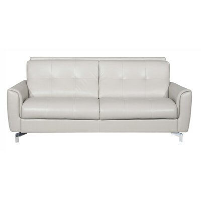 Bensonhurst Leather Sleeper Sofa
