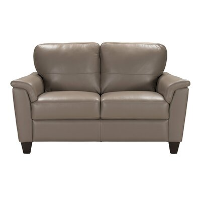 Amity Leather Loveseat