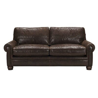 Quinton Top Grain Leather Sofa