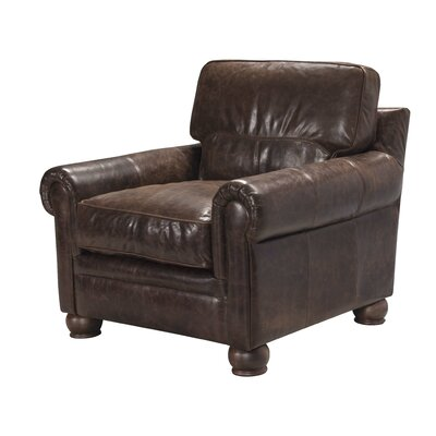 Quinton Top Grain Leather Armchair