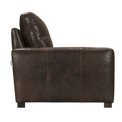 Bassham Top Grain Leather Armchair