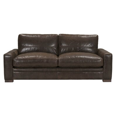 Bassham Top Grain Leather Sofa