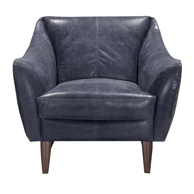 Jeffery Top Grain Leather Armchair