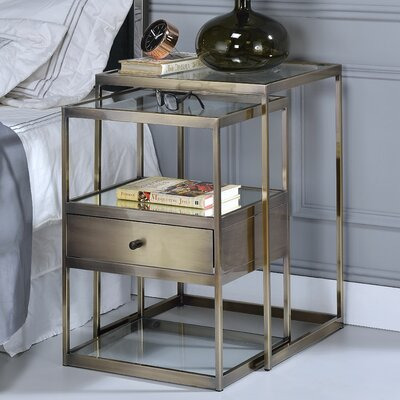 Branscome 2 Piece Nesting Tables