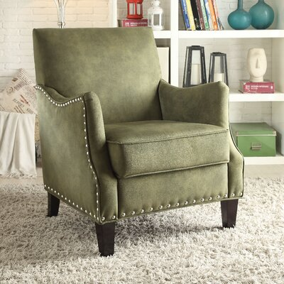 Sinai Armchair Upholstery Color: Olive