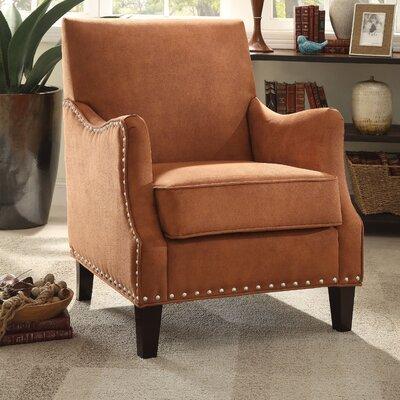 Sinai Armchair Upholstery Color: Orange