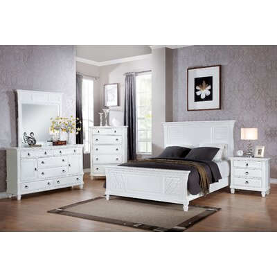 Mapleton Panel Configurable Bedroom Set